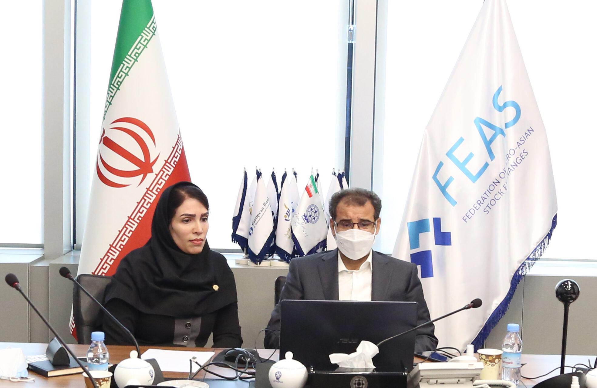 بورس اوراق بهادار تهران برای دو سال دیگر به عضویت هیئت مدیره فدراسیون بورسهای اروپا-آسیایی برگزیده شد